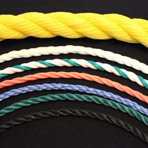 Polyester Three Stranded Rope